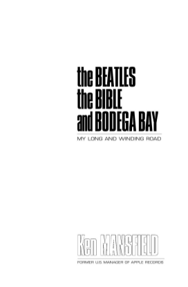 The Beatles, The Bible and Bodega Bay
